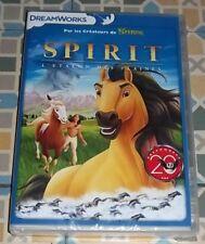 DVD Spirit l'Etalon des plaines - Dreamworks - Neuf sous blister