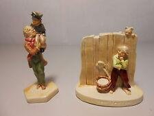 Vintage Sebastian Handcast and Hand Painted Miniature Tom Sawyer, Tiny Tim