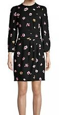 $385 MARELLA WOMEN'S black floraPRINT  DRESS SIZE 4