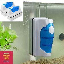 New Aquarium Fish Tank Floating Magnetic Glass Cleaner Algae Brush Scrubber Tool