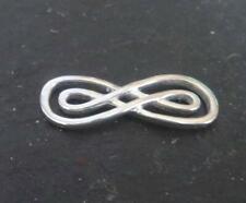 """6 conectores /""""Infinity/"""" en color plata platinadas"""
