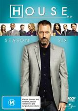 House, M.D. : Season 6 (DVD, 2010, 6-Disc Set) - Like New - R4