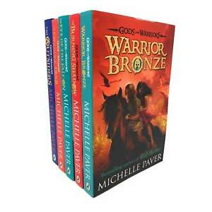 Gods And Warriors 5 Books Set Collection Michelle Paver, Warrior Bronze NEW