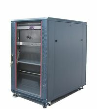 "Bonus Free!!! 22U 39"" Deep 19"" IT Free Standing Server Rack Cabinet Enclosure"