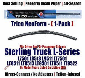 Qty 1 Premium NeoForm Wiper fit 1999-2001 Sterling Truck L7501 L8513 L9511 16200