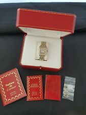 Cartier Panthere 24k Gold and steel box and certificate 1986 dated