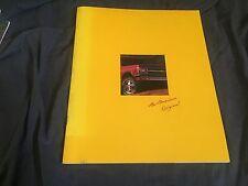 1992 Chevy Chevrolet S10 Blazer SUV Brochure Catalog Prospekt