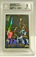 Carmelo Anthony 2003-04 Topps Chrome Refractor RC Rookie #113 BGS 9 Nuggets NBA