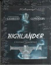 HIGHLANDER L'ULTIMO IMMORTALE Blu ray + DVD Di Russell Mulcahy BLU RAY NUOVO