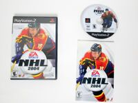 NHL 2004 game for Sony Playstation 2 PS2 -Complete