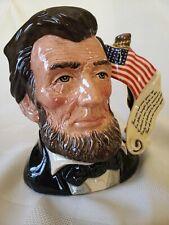 Royal Doulton Abraham Lincoln D6936 Presidential Series, Ltd Ed 1179/2500.