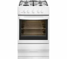 ESSENTIALS CFSGWH17 50 cm Gas Cooker - White
