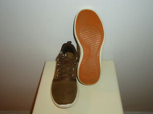 NIB! $69.99 Under Armour Charged 24/7 Brown Suede Sneakers, Sz.3.5