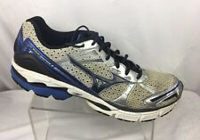 Mizuno Wave Inspire 8 White/ Black/ Blue/ Mens Athletic Running Shoes Size 15