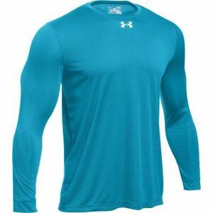 Mens Under Armour Locker Tee 2.0 Long Sleeve Loose Fit T-shirt 1305776 New