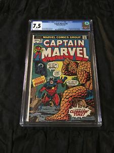 1st Appearane Death & 1st Thanos Cover! Marvel 1973 Captain Marvel #26 CGC 7.5
