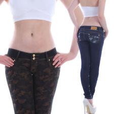 Armee Damen-Jeans mit niedriger Bundhöhe