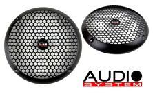 AUDIO SYSTEM GI 165 PA Lautsprechergitter schwarz matt 16,5cm 1 Paar NEU