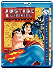 Justice League of America First Season 1 (Blu-ray Disc,3-Disc Set) DC Comics NEW