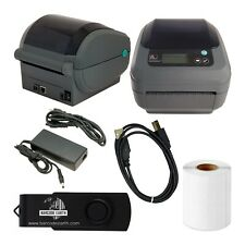 Zebra GX420d Desktop Direct Thermal Label Printer with Ethernet & USB w/ Tech!
