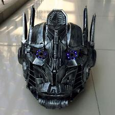 Handmade Robots Autobots Helmet Costume DJ MC Laster Mask Club Nightclub Party