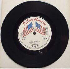 "PATRICK JUVET : I LOVE AMERICA 7"" Vinyl Single 45rpm Excellent"