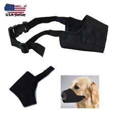 "Dog Muzzle Mask Adjustable Mouth Grooming Anti Stop Bark Bite Pet ""Us Seller"""