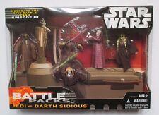 Star Wars Battle Packs JEDI VS DARTH SIDIOUS, SAESEE TIIN,AGEN KOLAR,FISTO,WINDU