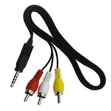 Av A/V Audio Video Tv Cable Cord Lead for Magnavox Mpd845 Portable Dvd Player