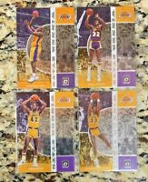 2019-20 Panini Donruss Optic Winner Stays Lakers LOT of 4 - Magic, Shaq, Kareem