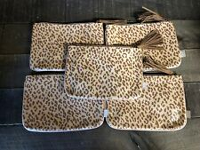 (5) IPSY Leopard Animal Print November 2019 Cosmetic Make-Up Glam Plus Bags ONLY