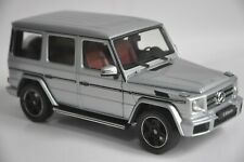 Mercedes-Benz G-Klasse car model in scale 1:18 Diamond silver