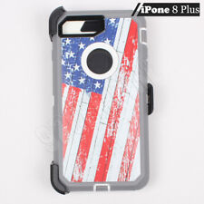for Apple iPhone 8 Plus Defender Case (Clip fits Otterbox)