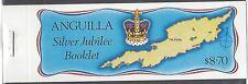 Anguilla, Scott cat. 271-274. Queen`s Anniversary Booklet