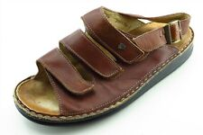 Finn Comfort Size 39 M Brown Slingback Leather Women Sandal Shoes