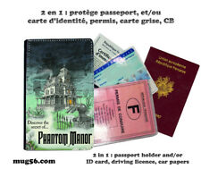phantom manor haunted mansion disneyland 203 carte identité permis passeport