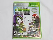NEW (Read) Plants Vs. Zombies Garden Warfare 1 XBox 360 Game SEALED US NTSC
