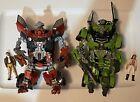 Transformers ROTF Human Alliance: SKIDS & MIKAELA + MUDFLAP & SIMMONS Loose Lot