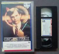 VHS Film Ita Horror CONFLITTO FINALE omen presagio ex nolo no dvd lp cd(V91)