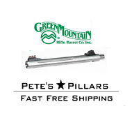 """Green Mountain Ruger Charger 10"""" 22LR Fire Sights Fluted SS 920 BBL 10/22 901823"""