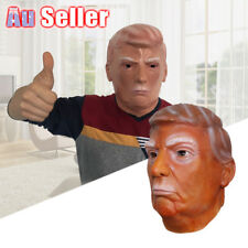 Politician Halloween Costume Latex USA President Mask Donald Trump Party Cosplay