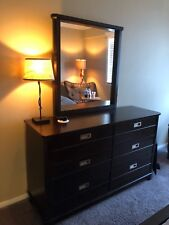 Bay Street Charcoal 5-piece full panel bedroom set used