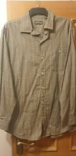 Mens Orvis  Check Shirt Fine Cotton size XL Mint Condition