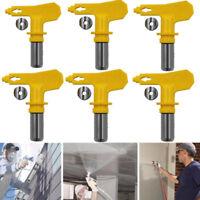 Universal Paint Sprayer 2/3/4/5 Series Airless Paint Spray Gun Tip Nozzle Yellow