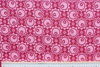 Baumwolle Jersey Stoff, Swafing, See you! Bienvenido Colorido, rosa, 160 cm