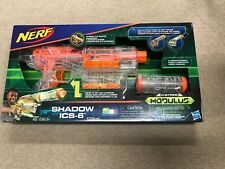"NERF SHADOW ICS-6 MODULUS GHOST OPS DART BLASTER ""NEW IN BOX"""