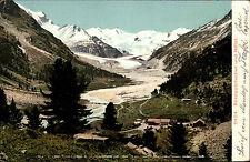 Roseggletscher Schweiz Graubünden 1910 Hotel Gletscher Berge Alpen Berninagruppe