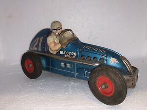 Rare Yonezawa Electro Special Midget Racer Battery Operated Tin Toy Race Car