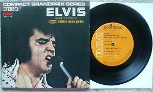 Elvis Presley - Elvis At Madison Square Garden - JAPAN GRANDPRIX 33 E.P + PS EX-