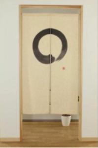 Noren Japanese Hanging door curtain Linen mixed material Japan